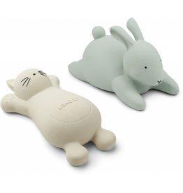 Liewood Liewood Vikky bath toys - 2 pack cat creme