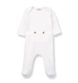 1 + in the family 1+ in the family Adam jumpsuit white
