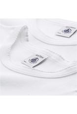 Petit Bateau Petit Bateau set van 2 meisjes T-shirts met korte mouwen wit