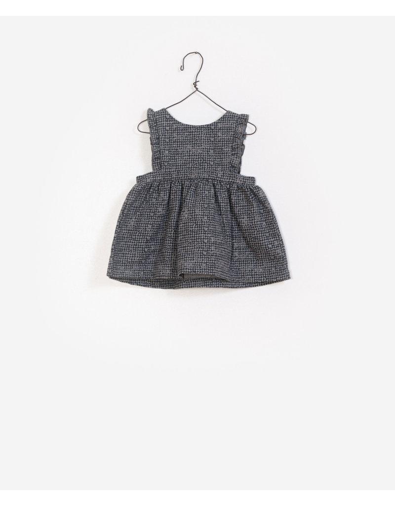 Play Up Play Up printed woven dungaree skirt mescla