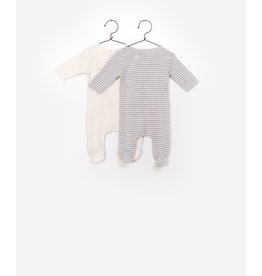 Play Up Play Up 2-pack rib jumpsuit