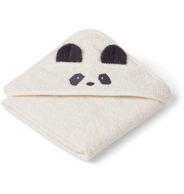 Liewood Liewood Albert badcape 70x70 panda creme de la creme