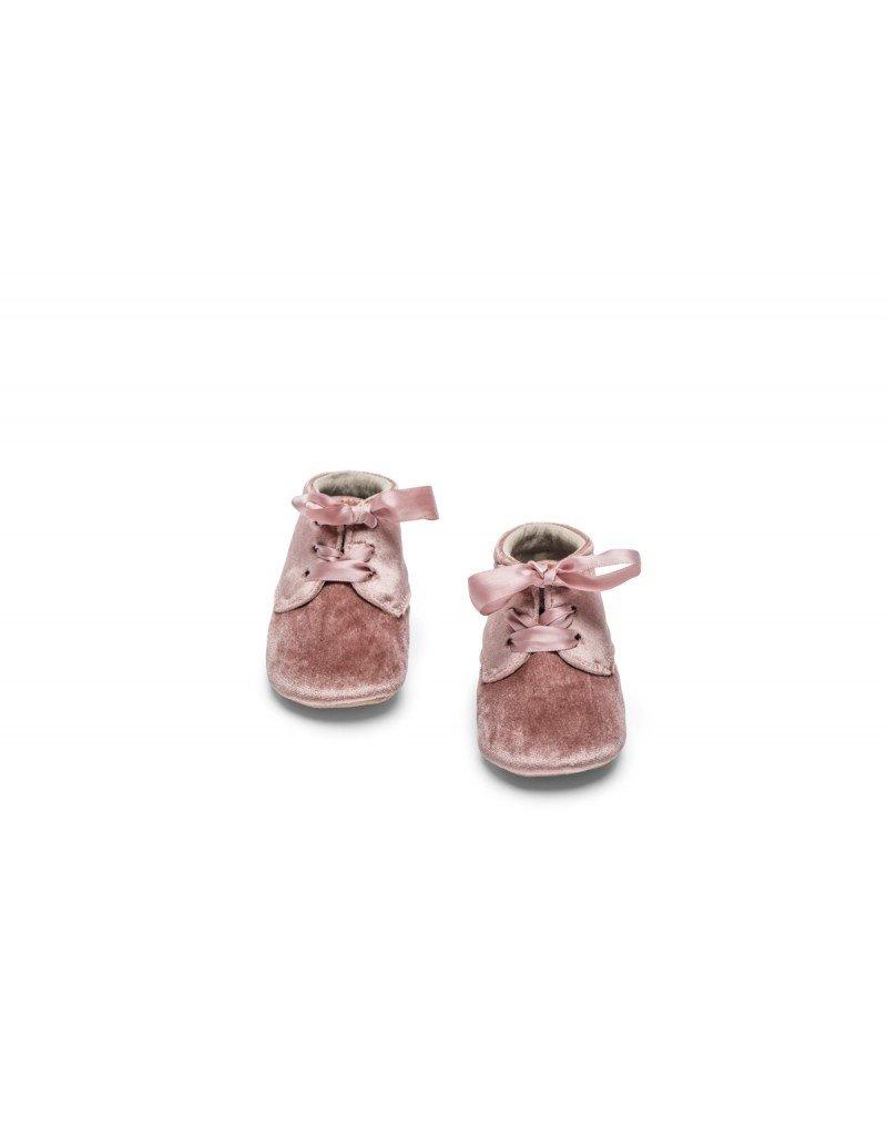 Mockies Mockies classic boots velvet pink