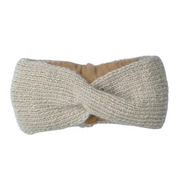 Hats over Heels Hats over Heels Turban headband beige