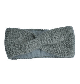 Hats over Heels Hats over Heels Turban headband grey