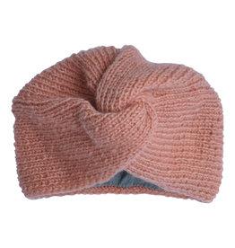 Hats over Heels Hats over Heels Turban hat light pink