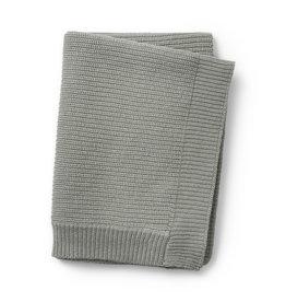 Elodie Details Elodie Details gebreid deken wol mineral green