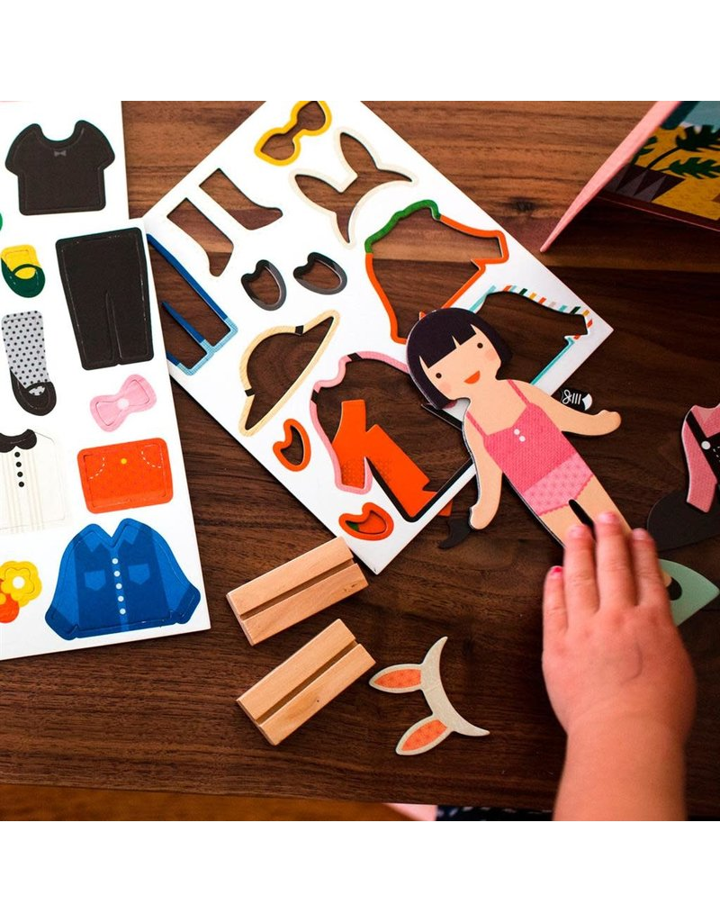 Petit Collage Petit Collage magnetic play set little travelers