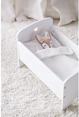 Kid's Concept Kid's Concept poppenbedje wit met bedset