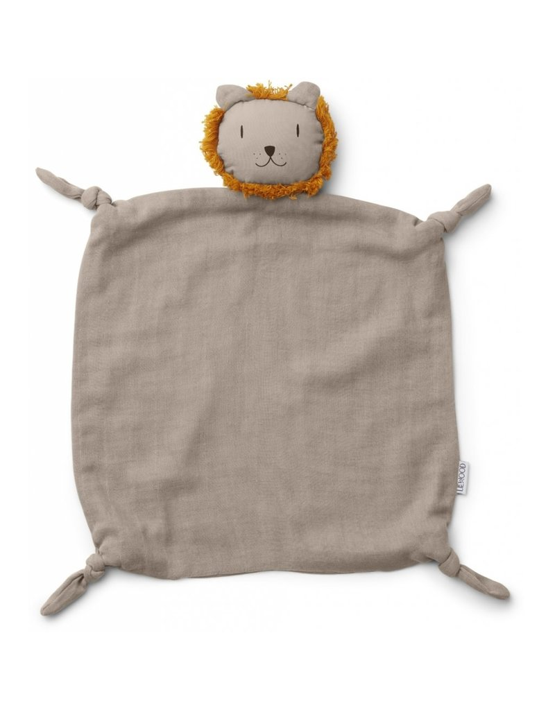 Liewood Liewood Agnete cuddle cloth lion stone beige