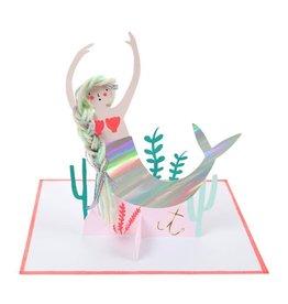 Meri Meri Meri Meri mermaid stand-up card