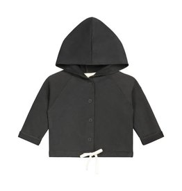 Gray Label Gray Label baby hooded cardigan nearly black