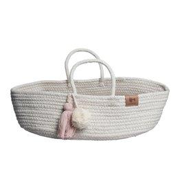 Fabelab Fabelab rope doll basket mauve