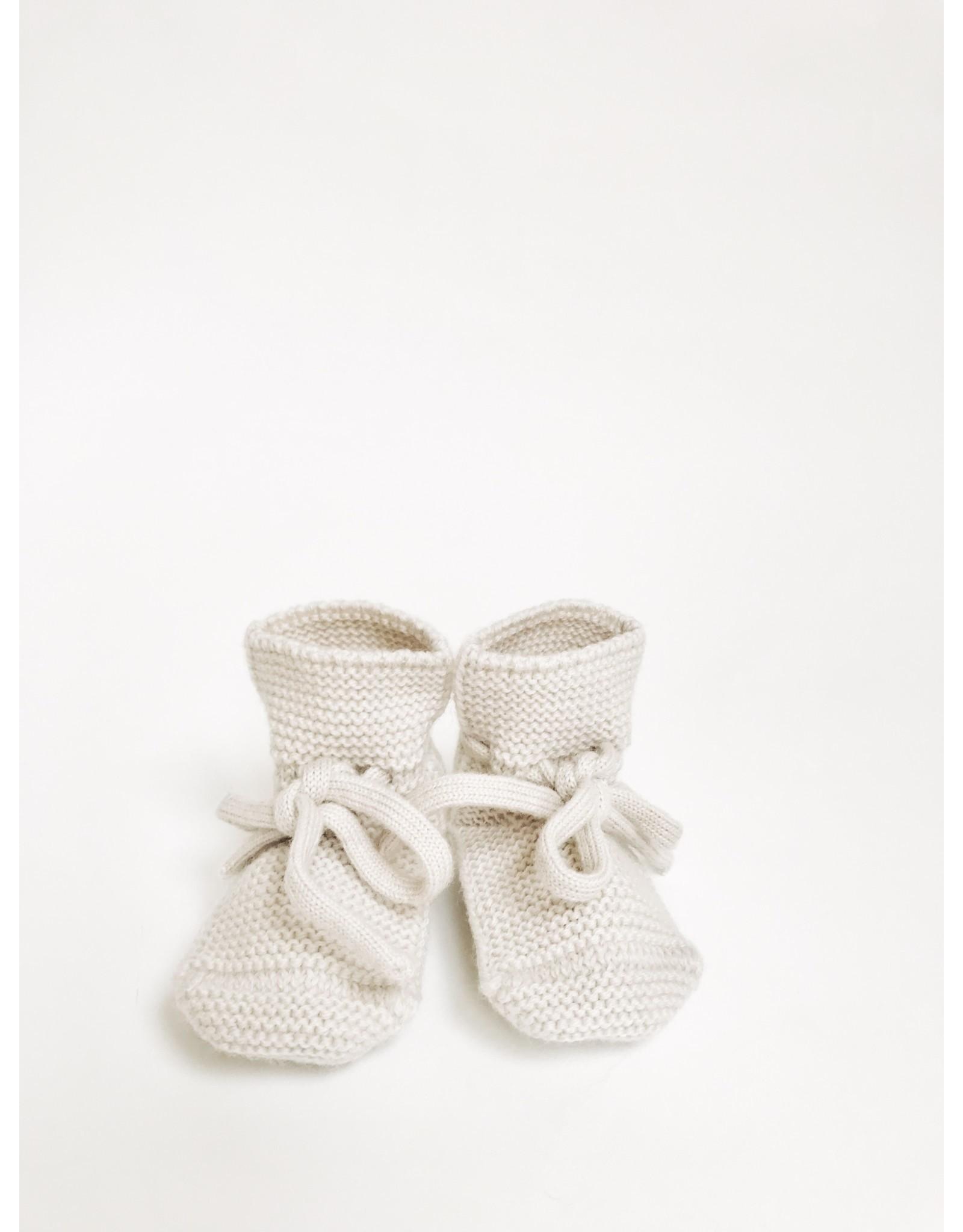 Hvid Hvid booties off-white 0-12M