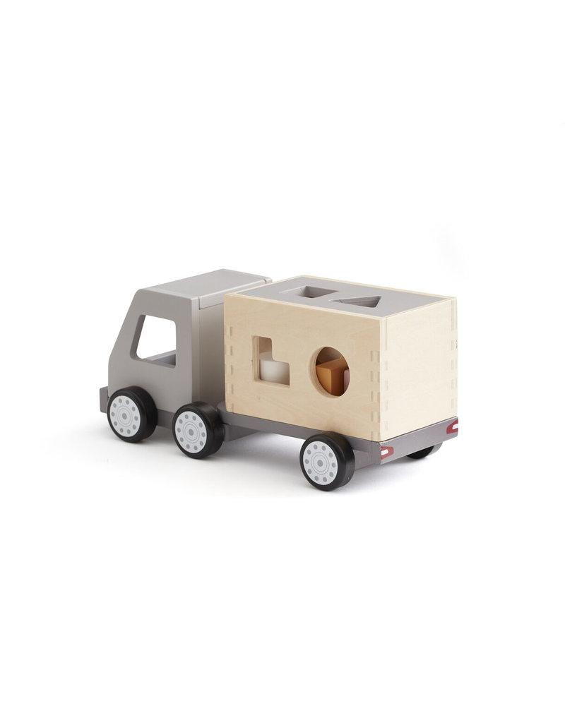 Kid's Concept Kid's Concept vrachtwagen met vormpjes Aiden