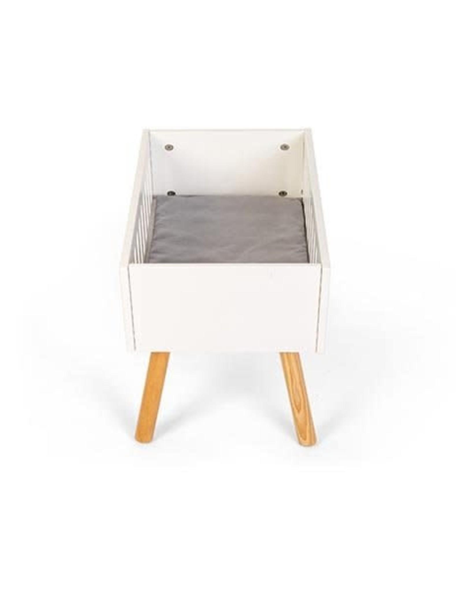 Minikane Minikane Doll bed wood white