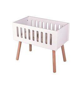 Minikane Minikane Doll bed wood white