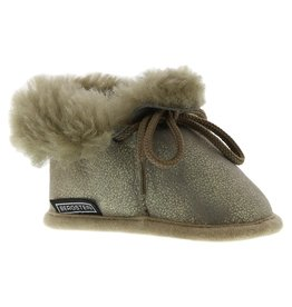 Bergstein Bergstein Pantoffels Bambi Lux taupe gold