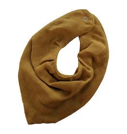 Slaep Slaep bandana bib autumn glory mustard