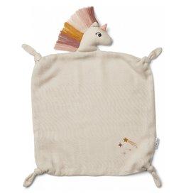 Liewood Liewood Agnete cuddle cloth unicorn sandy