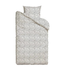 Mies & Co Mies & Co dekbedovertrek Cozy Dots offwhite