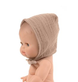 Minikane Minikane Bonnet châtaigne