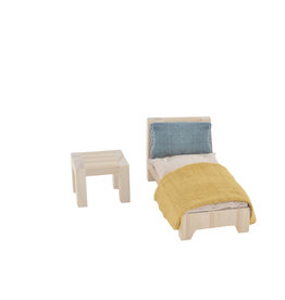 Olli Ella Olli Ella Holdie single bed set