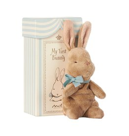 Maileg Maileg my first bunny in box blue