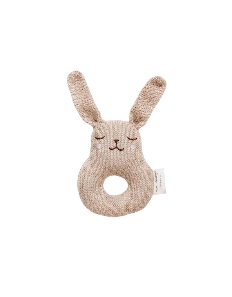 main sauvage main sauvage rattle bunny sand