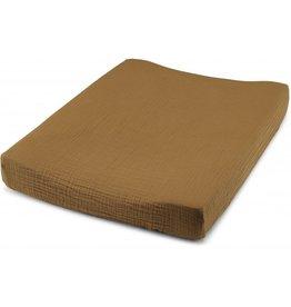 Konges Slojd Konges Slojd fitted sheet changing cushion dark honey