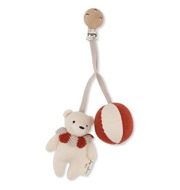 Konges Slojd Konges Slojd bear pram toy toffee