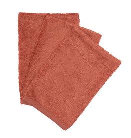 Timboo Timboo set van 3 washandjes apricot blush