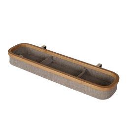 Quax Quax hangrekje met indeling (3) katoen/bamboe