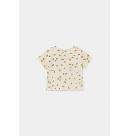 Bobo Choses Bobo Choses All Over Daisy Terry Short Sleeve Sweatshirt