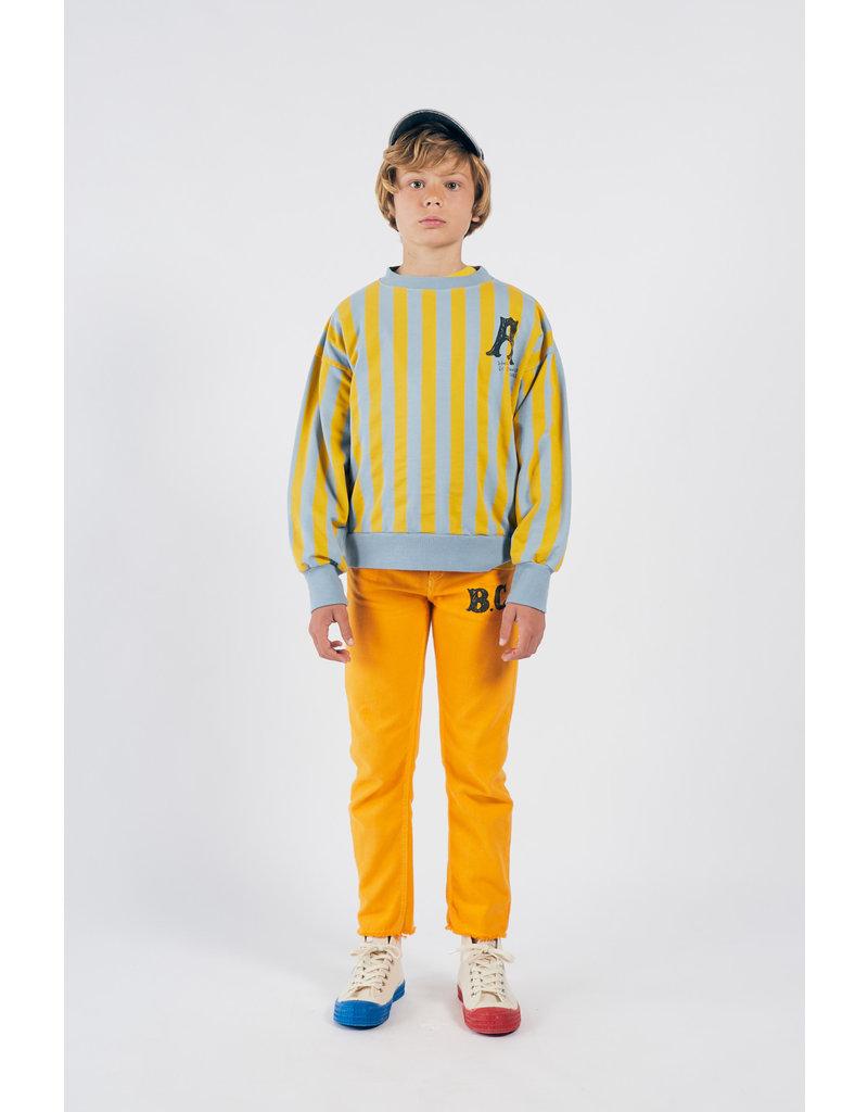 Bobo Choses Bobo Choses A Dance Romance Striped Sweatshirt
