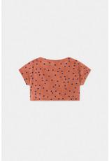 Bobo Choses Bobo Choses Spots Terry Towel Cropped Sweatshirt