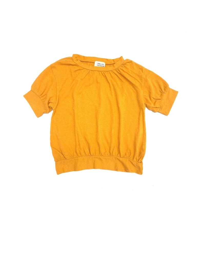 Long Live The Queen Long Live The Queen Puff Tee Golden Yellow