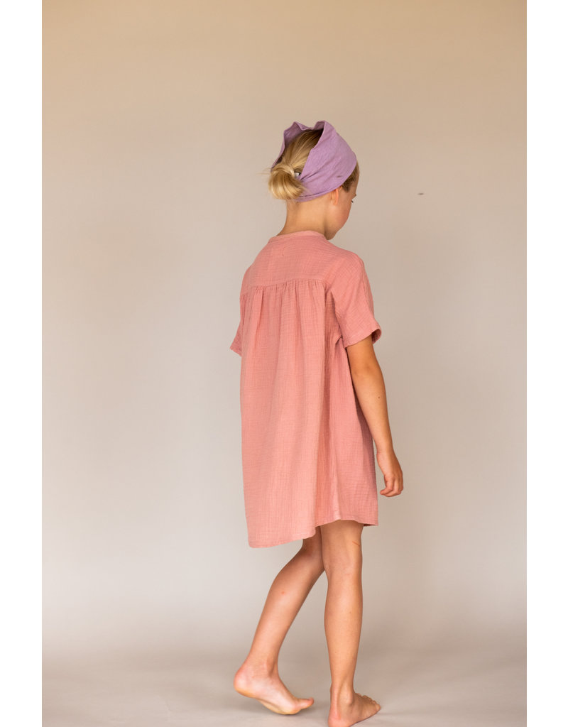 Long Live The Queen Long Live The Queen Crinkle Dress SS Nude