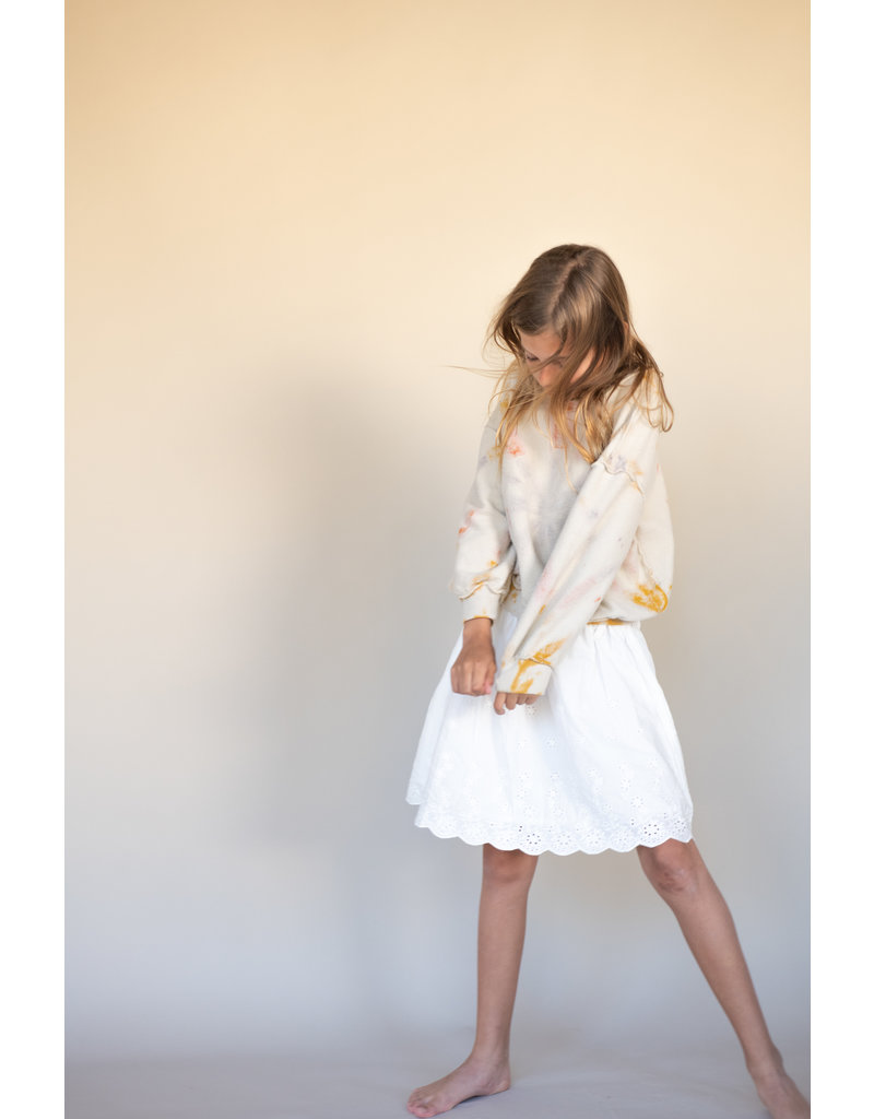 Long Live The Queen Long Live The Queen Skirt White Broderie