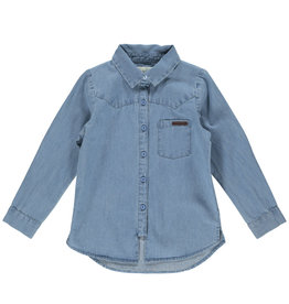 MarMar MarMar Shirt Theo Mid Denim Blue