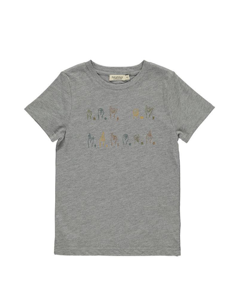 MarMar MarMar T-shirt Ted Grey Melange