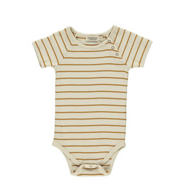 MarMar MarMar Body Bo SS Pumpkin Pie Stripe