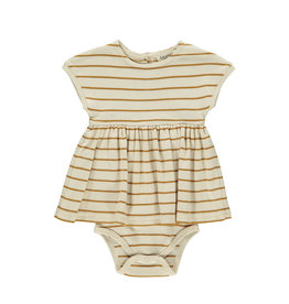 MarMar MarMar Dress Deli SS Pumpkin Pie Stripe
