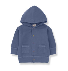 1 + in the family 1 + in the family Noto hood jacket azzurro