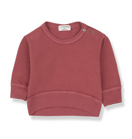 1 + in the family 1 + in the family Siracusa sweatshirt red