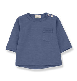 1 + in the family 1 + in the family Travi longsleeve azzurro