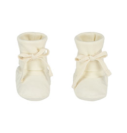 Gray Label Gray Label Baby Ribbed Booties Cream
