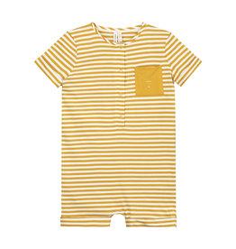 Gray Label Gray Label Short Leg Suit Mustard/Off White Stripe