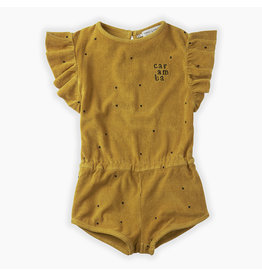 Sproet & Sprout Sproet & Sprout Jumpsuit Dots Caramba Curcuma