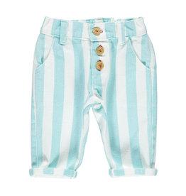 Piupiuchick Piupiuchick Unisex trousers light blue stripes
